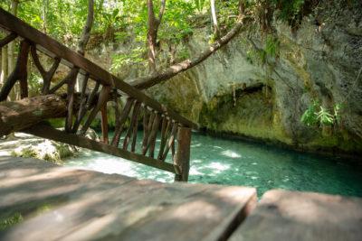 Cenote Tulum in Riviera Maya in Mexico